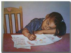 AFRICAN AMERICAN ART & PRINTS-Sleeping Beauty