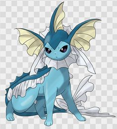 And this is what Mega Vaporeon would look like...IF THEY HAD ONE.