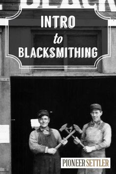 VIDEO Blacksmithing Guide | How to Become a Blacksmith by Pioneer Settler http://pioneersettler.com/video-blacksmithing-guide-intro-to-blacksmithing/