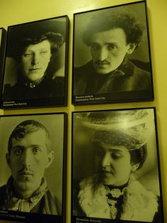 Ellis Island, Pictures of immigrants that came to the US through Ellis Island.