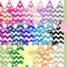 These Chevron Stars can be used for creating lessons and organizing your classroom.   If you would like any adjustments to the file, feel free to e...