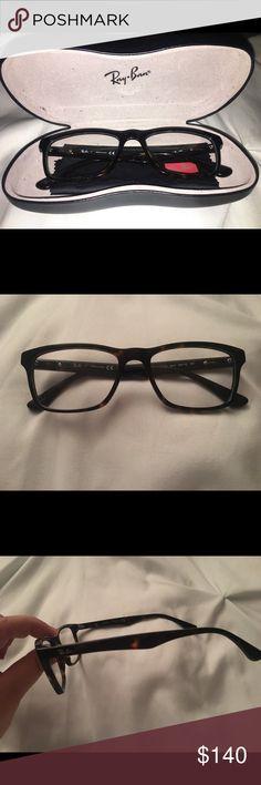 2692e55c7aa8d Authentic RAY BAN eyeglasses 👓 NWOT Gorgeous authentic ray ban eyeglasses.  Still have original plastic