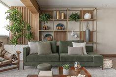 Perdizes Apartment Gallery / AS Design Arquitetura – 5 # apartamento … Home Room Design, Interior Design Living Room, Living Room Designs, House Design, Home Living Room, Living Room Decor, Bedroom Decor, Barn Living, Style Deco