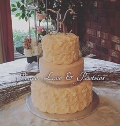Peace, Love & Pastries #Nola #WeddingCake