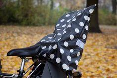 sew - Fahrrad Kindersitzbezug nähen - Tutorial