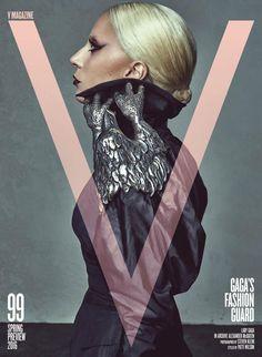Lady Gaga by Steven Klein   V Magazine #99