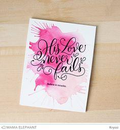 mama elephant | design blog: INTRODUCING: His Love + Cute Basket CC