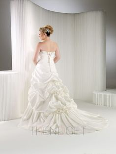 Ruching Ball Gown Taffeta Sweetheart Wedding Dresses