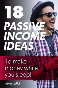 18 Proven Passive Income Ideas to Make Extra Money Passive income. It's the type of income you t Earn Money From Home, Earn Money Online, Make Money Blogging, Money Tips, Money Saving Tips, Way To Make Money, Money Fast, Passive Income Streams, Creating Passive Income