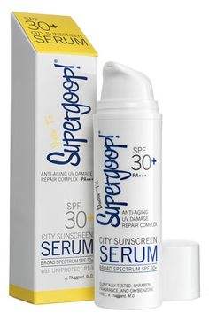 I am in LOVE with Supergoop!® 'City Sunscreen' Serum SPF 30+ PA+++ available at #Nordstrom