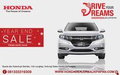 Promo Akhir Tahun Honda HR-V Balikpapan