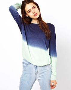 Hate winter, love sweaters. My life is full of contradictions. This lovely dip dyed number from Just Female. Love.