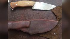 Fabricación de Funda para Cuchillo de Caza - YouTube