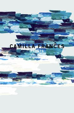 Camilla Frances is a individual print creator, leading a team that combines unique, personal design sensibilities with traditional hand drawing techniques to craft an ever-growing world of prints. Illustrations, Illustration Art, Textile Prints, Textiles, Miami Art Deco, Wallpaper Patterns, Drawing Techniques, Abstract Print, Surface Design