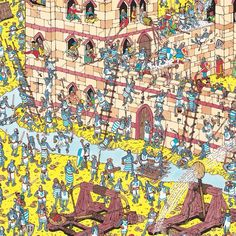 Where's Wally find him! Psalm 139: The Bible says that God knows all about us; that is why he can always find us and never loses sight of us on crowded planet earth (beautifully put by Barnabas in schools)