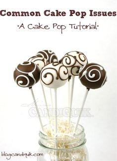 Common Cake Pop Issues & Tutorial