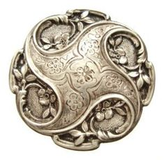 ANTIQUE SOLID SILVER BROOCH FROM THE ART NOUVEAU PERIOD. | Copyright © 1995-2015 eBay Inc.