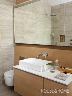 Scandinavian Bathroom | Photo Gallery: Modern Bathrooms | House & Home | Photo by Janis Nicolay