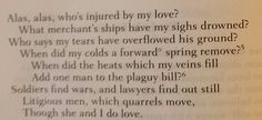 """The Canonization."" By John Donne"
