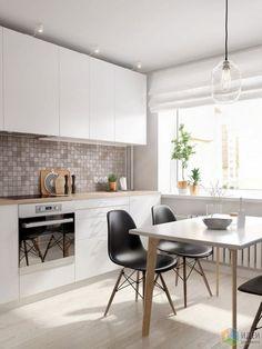 Интерьер в скандинавском стиле, белая кухня фото, белая кухня в скандинавском…