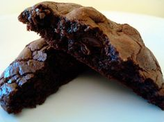 Best Thick and Chewy Double Chocolate Cookies