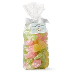 Our springtime sweets are just the thing for filling Easter baskets. The tangy sour gummy bunnies are bursting with the bright citrus flavors of key lime, lemon and pink grapefruit. These springtime sweets add piquant flavor to an assortment of se… Easter Candy, Easter Treats, We Take The Cake, Filled Easter Baskets, Cookie Baskets, Artificial Food Coloring, Seasonal Celebration, Chocolate Bunny, Easter Cookies