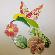 Fused Glass, Stained Glass, Mosaic Animals, Sewing Ideas, Projects To Try, Birds, Ceramics, Crafty, Handmade