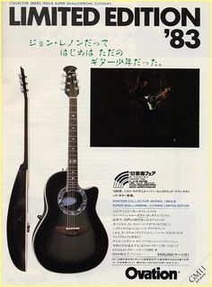 The unique guitar blog rip ovation guitars usa art ovation 1983 collectors japanese ad cheapraybanclubmaster Choice Image