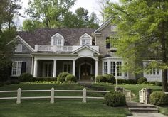 Home exterior architecture and landscaping -Spitzmiller & Norris, Inc.