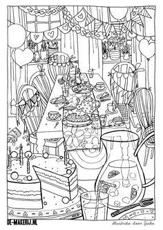 Printable - to color - www.de-makerij.nl