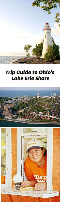 A narrow span of Lake Erie separates America's roller coaster mecca in Sandusky from Kelleys Island and Put-in-Bay for the choice of serene or boisterous—sometimes in the same day. Trip guide: http://www.midwestliving.com/travel/ohio/lake-erie-shore-trip-guide/