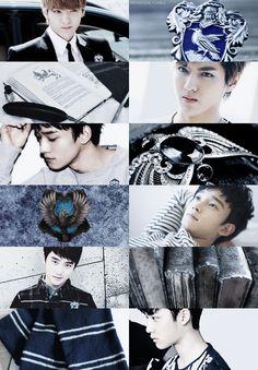 Hogwarts edit - Ravenclaw - EXO/Kris-Chen-D.O