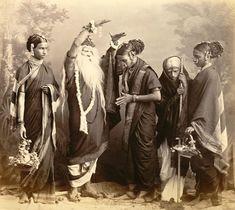 Marathi Theatrical troupe, 1870's - Old And Vintage Photographs Of Mumbai Bombay  Page 2 of 2  Best of Web Shrine