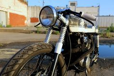 Inazuma café racer: CB350 by Retro Wrench: The Issue One