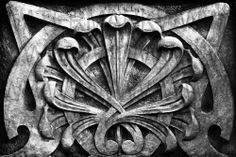 GOTHIC-DECO-FIGURAL-CLASSICAL-RELIEF-GREEK-ROMAN-ARCHITECTURAL-BW-#1