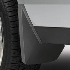 Yukon Splash Guards, Rear Molded, Black Grain:Keep your Yukon clean and avoid tire splash and mud with these guards.