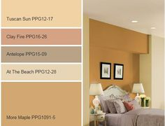 bisque paint color from ppg pittsburgh paints is in the orange