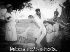 Let us never forget. And never let this happen again. This is a prisoner being taken into one of the first experimental gas chambers at Auschwitz concentration camp.