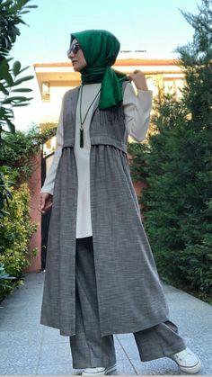 Ideas For Coat Closet Modern Outfit Islamic Fashion, Muslim Fashion, Modest Fashion, Fashion Dresses, Muslim Dress, Hijab Dress, Hijab Outfit, Street Hijab Fashion, Abaya Fashion