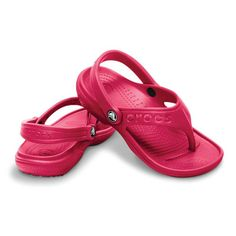 5f47d4b848f0 Crocs - Baya flip kids Raspberry (12066-652) Crocs Sandals