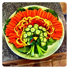 Turkey Veggie Plate