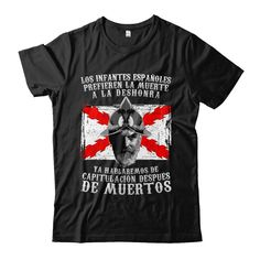 €22.95. Camiseta Tercios (El milagro de Empel). Unisex, Mens Tops, T Shirt, Patriots, Infants, Crew Neck, T Shirts, Supreme T Shirt, Tee Shirt