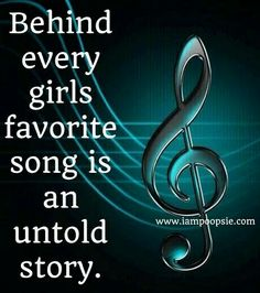 Music is My Life Story