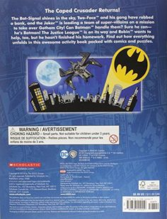 Enter the Dark Knight (LEGO DC Comics Super Heroes: Activity Book with Minifigure) (LEGO DC Super He