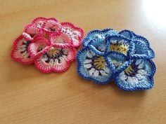 Crocheted flower 59 - YouTube