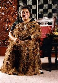 Te Arikinui Dame Te Ātairangikaahu. Nō Waikato-Tainui.  Māori Ariki Rangatira