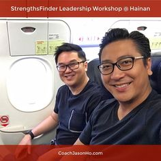 """#Singapore to #Hainan for a #StrengthsFinder (#CliftonStrengths) Leadership Workshop for an MNC's APAC leadership team   @CoachVictorSeet and I are flying over now and it's going to be a blast! Amidst all the hustle of work we steal some time to strategise & plan at what is called 'China's Florida'.   Hainan is also where my grandparents came from and it's a great to know I'll be going back """"home"""". The Hainanese language is the thing that hits me the deepest as I grew up hearing it as a…"""