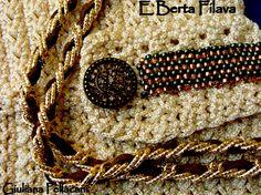 #Borsa #crochet #particolare degli accessori #Bag crochet