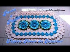 Capa Para Caixa Acoplada Jogo de Banheiro 03 - Wilma Crochê - YouTube