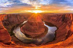 Horsehoe Sunset